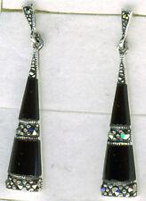 Butterfly Onyx Unbranded Drop/Dangle Fine Earrings