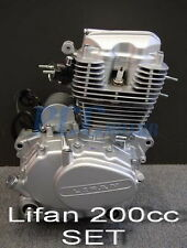 LIFAN 200CC 5 SPEED ENGINE MOTOR CDI MOTORCYCLE DIRT BIKE GO KART M EN25-SET