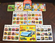 12 Bright Baby Board Books First Words Alphabet Trucks Touch and Feel L3