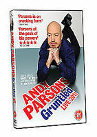 Andy Parsons Gruntled Live 2011 DVD New Sealed Free Post region 2 & 4