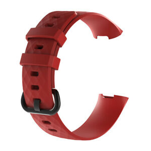 For Fitbit Charge 4 3 Silicone Sport Band Smart Watch Strap Bracelet Accessories
