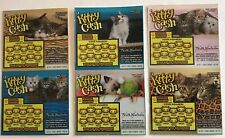 Kitty Cats Instant SV Lottery Ticket Set, 6 different