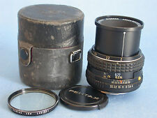 PENTAX-M SMC 50mm f:4 K Mount Macro Lens.