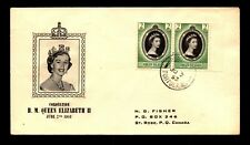 Virgin Islands 1953 QEII Coronation FDC - L13132