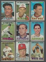 1967 O-Pee-Chee Baseball Cards Lot of 20