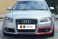 Audi A4 B7 05-08 Neu Original S LINE Stoßstange n / S LINKS Nebel Offen Grill