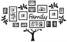WallVerbs? 19-Piece Family Tree Set in Black