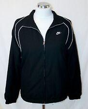 Nike Mens Full Zip Training Jacket - Black / White - Size Medium