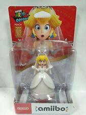 Nintendo Amiibo Peach Wedding Figure New / Sealed