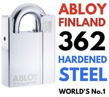Abloy 362 Finland Padlock New PL362 Worlds No1 Chrome Finish R.R.P. £250 Bargain