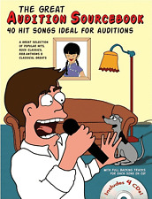 AUDITION SONGS Music Book & 4 x CDs - 40 HITS MALE SINGERS Rock Pop - 241 PAGES!