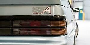 RARE VL HOLDEN GROUP SS GROUP A FUEL INJECTION REAR BOOT DECAL STICKER X 1