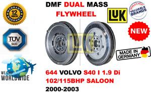 FOR 644 VOLVO S40 I 1.9 Di 102/115BHP SAL 2000-2003 NEW DUAL MASS DMF FLYWHEEL