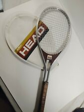 Vintage Amf Head Edge Tennis Racquet Graphite Racket 1970's With Cover Nice