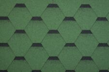 Green Hexagonal Roof Felt Tiles Shingles Deliveries available