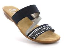 Rieker Damen Sandalen & Badeschuhe mit Blockabsatz 37 Größe