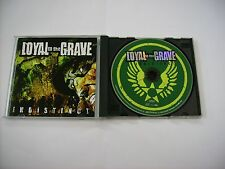LOYAL TO THE GRAVE - INDISTINCT EP - CD EXCELLENT CONDITION 2004 JAPAN PRESS