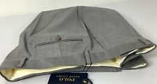 Ralph Lauren Polo Dress Pants Mens 36 Regular Light Gray Wool MSRP $295