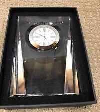 Howard Miller Quest Table / Desk / Mantle Crystal Clock 645720 645-720