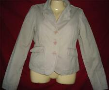 Junior's Beige Denim Blazer Jacket Medium Juicy Couture