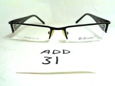 New Old Stock DI GIANNI Eyeglasses DG2008 Half Rim Rhinestones (ADD-31)