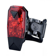 Infini Mini-Lava Super Bright Micro USB Rear Light - Black With Red Lens