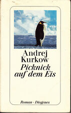 ANDREJ KURKOW Picknick auf dem Eis (Roman – Autor in Kiew mit Pinguin Mischa) TB