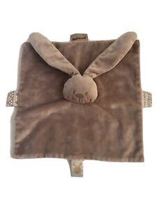 Nattou Plush Bunny Rabbit Baby Kids Toy Security Blanket Lovey