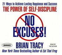 No Excuses!: The Power of Self-Discipline: Brian Tracy Audiobook 7CDs Unabridged