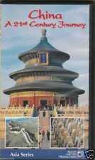 China - A 21st Century Journey (VHS, 2002)