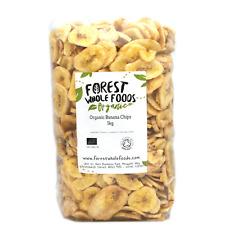 Forest Whole Foods - Biologique Banane Chips 5kg