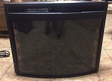 "28"" CURVED ELECTRIC FIRE PLACE - REFURBISHED"