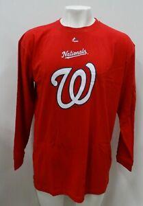 Washington Nationals MLB Majestic Men's Long Sleeve Shirt