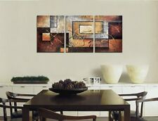 3 Pcs Abstract Wall Decor Art Picture Print Canvas Framed Home Hang Deco Gift
