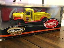 MATCHBOX COLLECTABLE 1946 DODGE POWER WAGON COKE COCA COLA PICKUP TRUCK 1/24 NIB