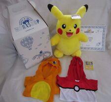 Build A Bear Pikachu Web Exclusive 15 Inch Pokemon Nintendo Club BABW Charizard