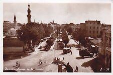 * SYRIA - Damas Damascus - Avenuee de la Victorie (Fotocelere Torino, Ed.Gulef)