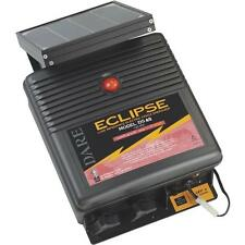 "Dare Eclipse 12V Solar Powered 12-1/2"" x 6"" x 15"" Electric Fence Charger DS40"