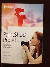 COREL Paintshop Pro X8 Photo Editing Graphic Design Software 2015 NEW