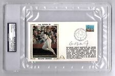 Cal Ripken Jr Signed Gateway First Day Cover Record Innings PSA/DNA Auto Slabbed