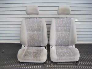 For Toyota Corolla AE112 98 - 01 Interior Seat Pair Front Left Right Code HU10
