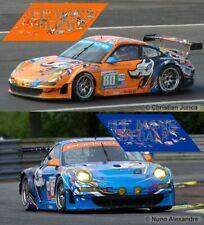 Decals Porsche 997 GT3 Le Mans 2011 1:32 1:43 1:24 18 Slot Flying Lizard calcas