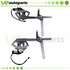 Power Window Regulator for Cadillac Chevy Tahoe Gmc Yukon Front Rh Lh w/ Motor