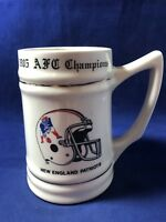 New England Patriots Super Bowl 20 Beer Stein
