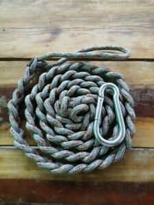 Dog leash Size of rope 7 mm *3 180 cm long