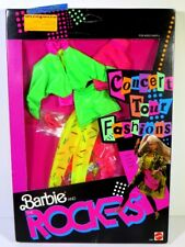 NIB BARBIE DOLL FASHION 1986 AND THE ROCKERS CONCERT TOUR 3391