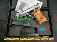 PRO F-V DELUXE SERIES 3D CHROME HD METAL ZORAKI SEMI+FULL MOVIE PROP REPLICA GUN