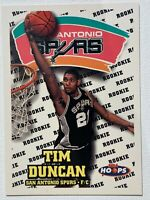 1997/98 Skybox NBA Hoops 🔥Tim Duncan 🔥Spurs Championship RC #72 HOF 2021
