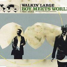 Walkin' Large Boy meets world (1999, feat. Brixx)  [Maxi-CD]