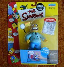 The Simpsons Grampa Simpson Figure World Of Springfield Playmates